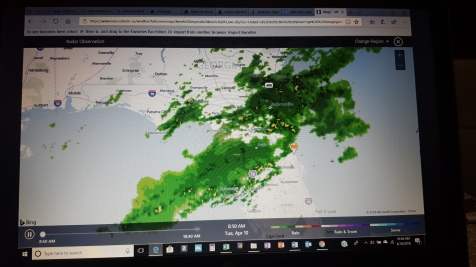 Florida Radar Map-Apr10